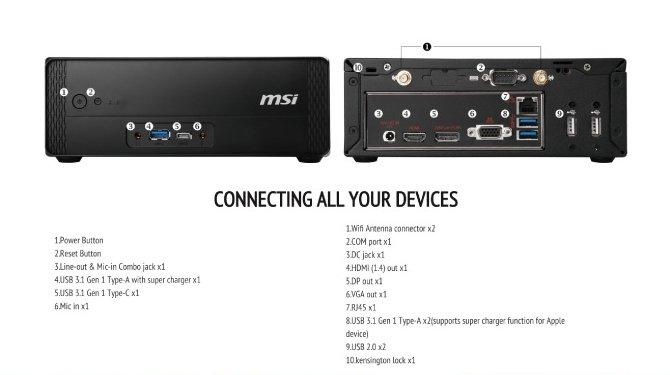MSI Cubi 3 Plus - kolejna generacja salonowych mini-PC [2]