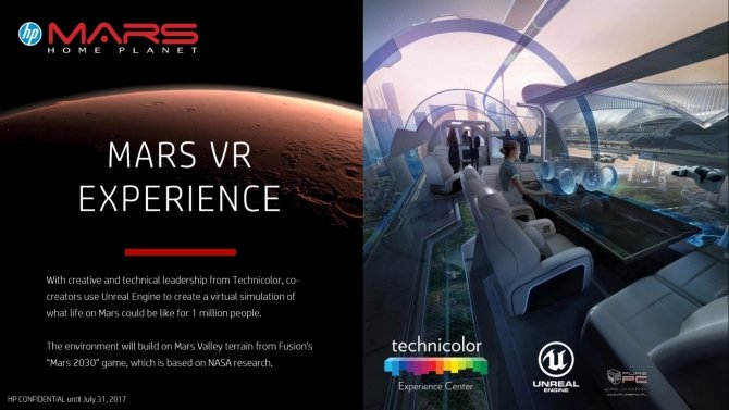 HP zaprezentował nowe pomysły związane z technologią VR [13]