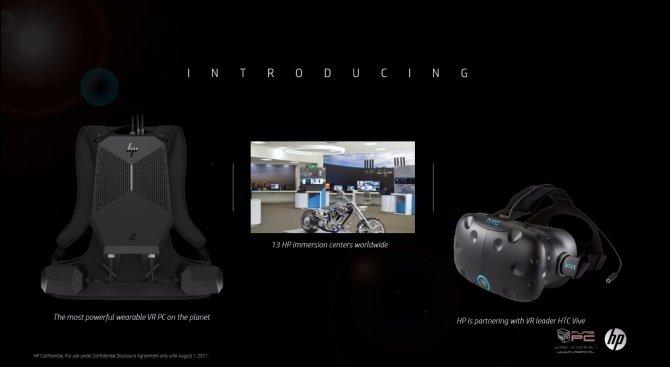 HP zaprezentował nowe pomysły związane z technologią VR [4]