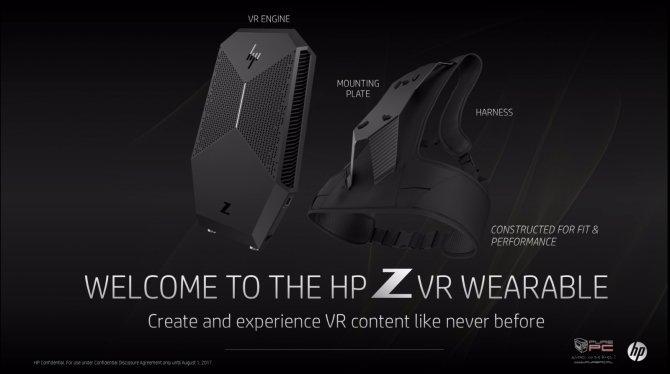 HP zaprezentował nowe pomysły związane z technologią VR [5]