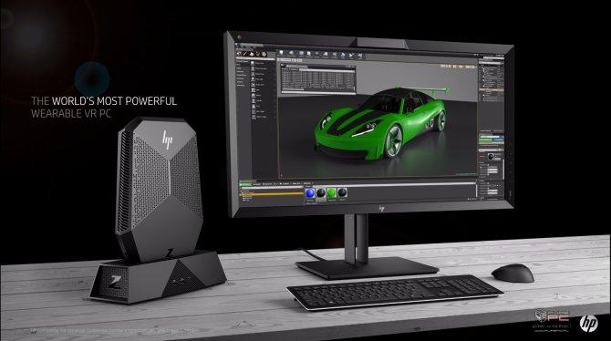 HP zaprezentował nowe pomysły związane z technologią VR [6]