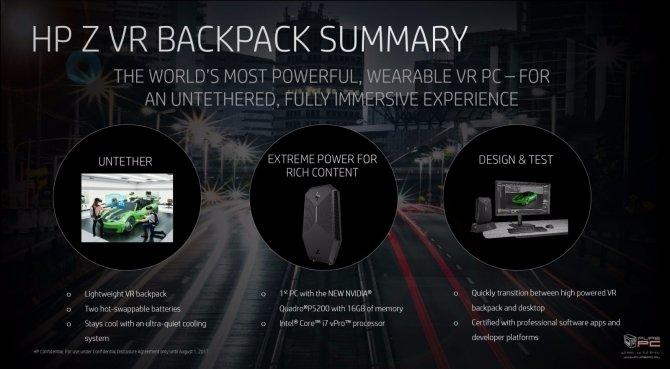 HP zaprezentował nowe pomysły związane z technologią VR [8]