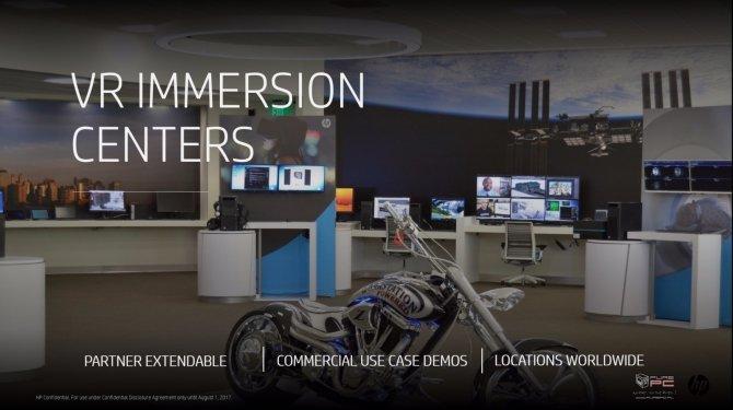 HP zaprezentował nowe pomysły związane z technologią VR [9]
