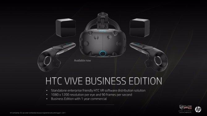 HP zaprezentował nowe pomysły związane z technologią VR [10]
