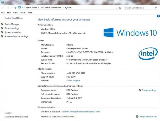 Procesor Intel Core i3-8300 z czterema rdzeniami i 8 wątkami [1]