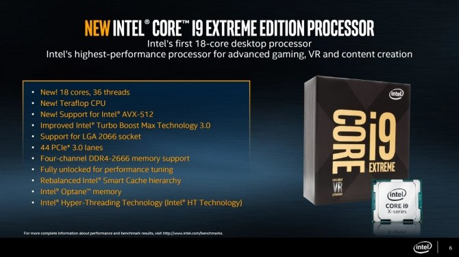 Intel Core i9-7980XE - premiera dopiero 18 października? [1]
