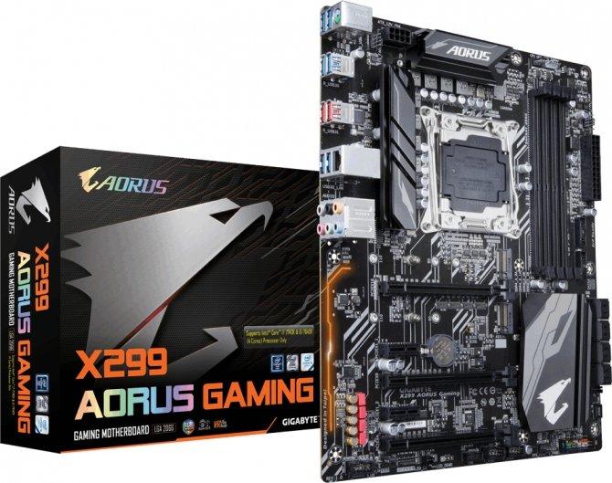 Gigabyte AORUS X299 Gaming - płyta główna dla Kaby Lake-X [2]