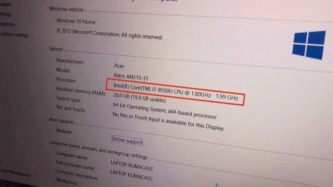 Acer Nitro 5 z procesorem Intel Core i7-8550U i GTX 10x0 [2]