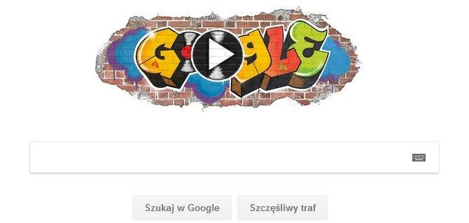 Google świetuje 44 rocznicę powstania hip-hopu nowym Doodlem [1]