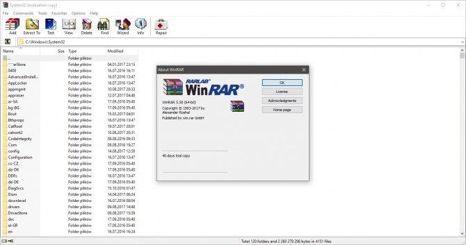 WinRAR 5.50 - nowa stabilna wersja z kilkoma udogodnieniami [1]