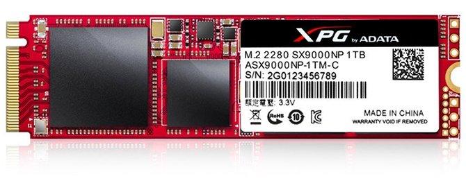 ADATA XPG SX9000 – flagowy SSD na kościach typu MLC  [2]