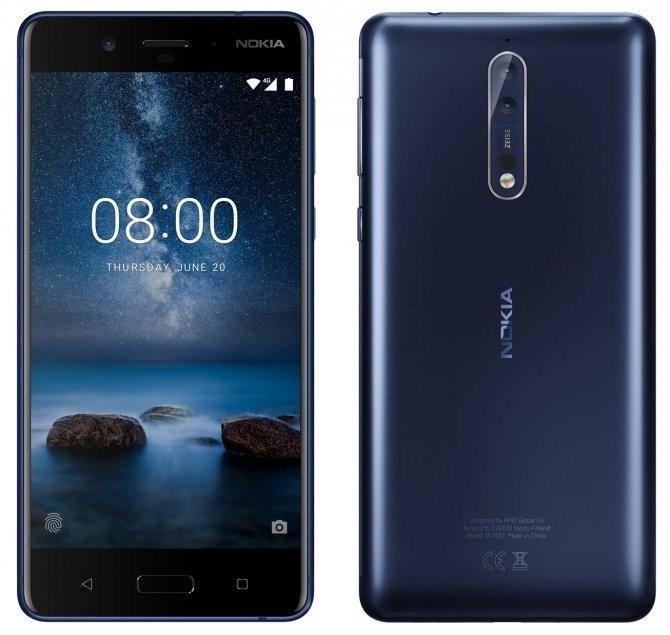 Premiera smartfona Nokia 8 - Fiński flagowiec w dobrej cenie [1]