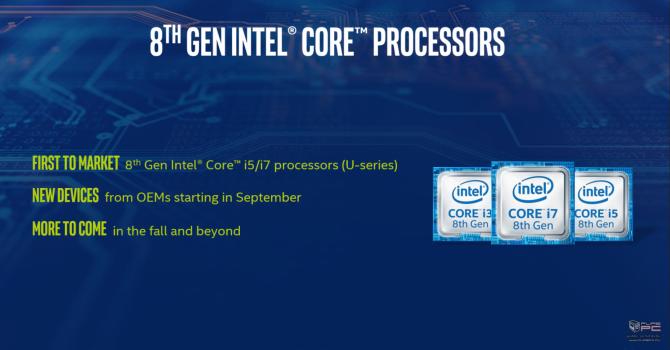 Intel prezentuje niskonapięciowe procesory Kaby Lake Refresh [15]