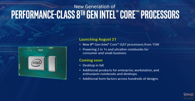 Intel prezentuje niskonapięciowe procesory Kaby Lake Refresh [4]