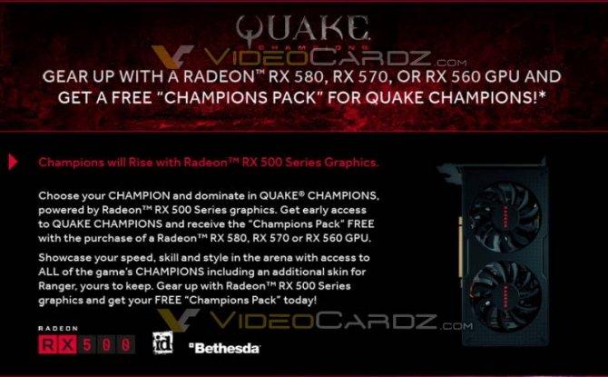 """Darmowy Quake """"Champions Pack"""" do Ryzenów i Polarisów [2]"""