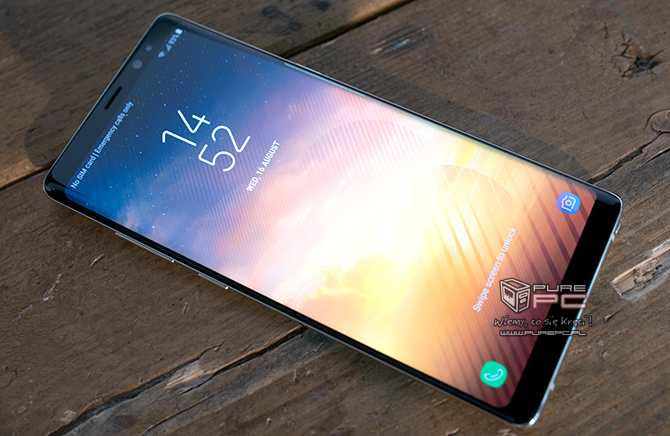 Samsung Galaxy Note8 w przedsprzedaży z zestawem dodatków [nc1]