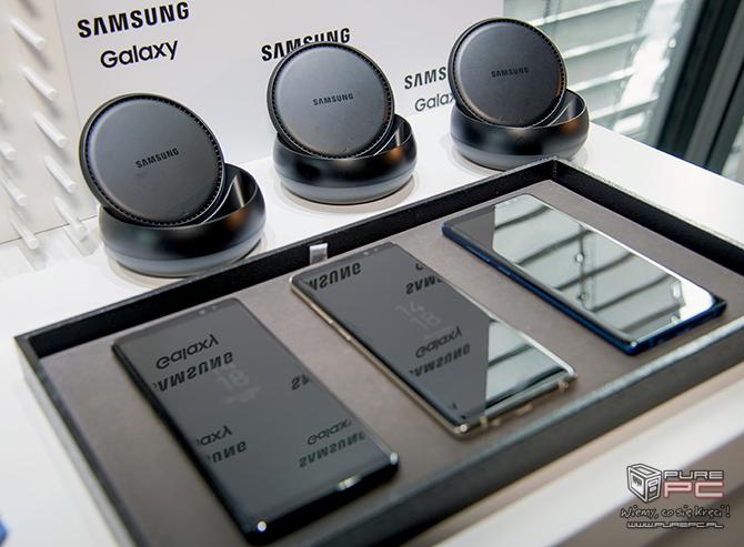 Samsung Galaxy Note8 w przedsprzedaży z zestawem dodatków [nc6]