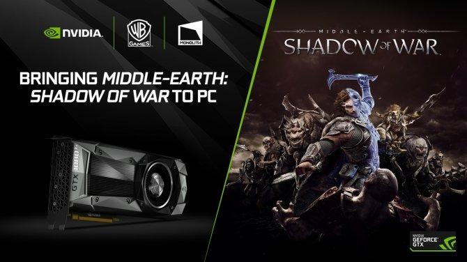 Śródziemie: Cień Wojny - NVIDIA współpracuje przy wersji PC  [2]