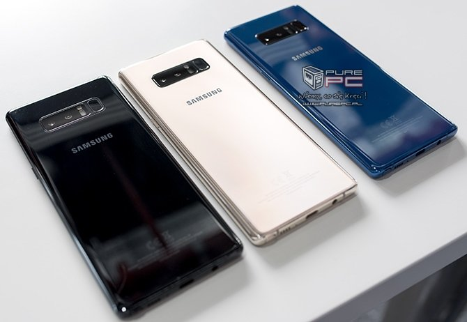 Samsung tłumaczy obecność mniejszej baterii w Note8 [1]