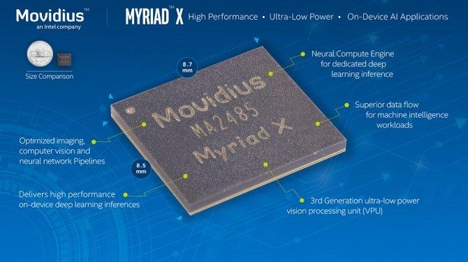 Movidius Myriad X - nowy produkt Intela dla rozwiązań SI [1]