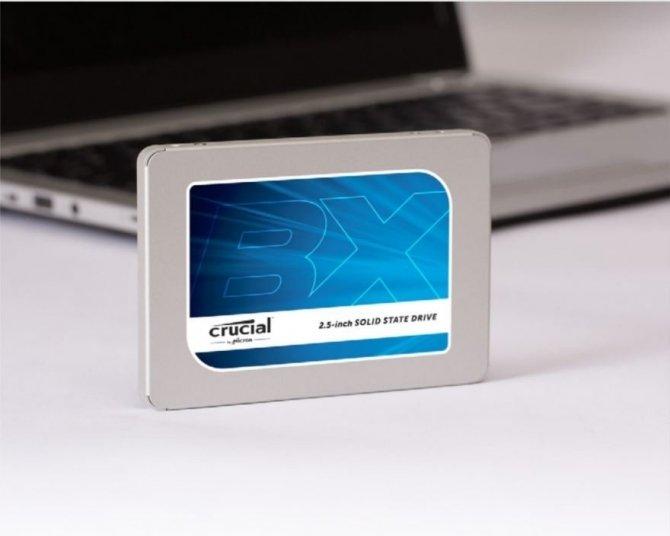 Crucial BX300 - nowy dysk SSD z pamięciami 3D NAND MLC [1]