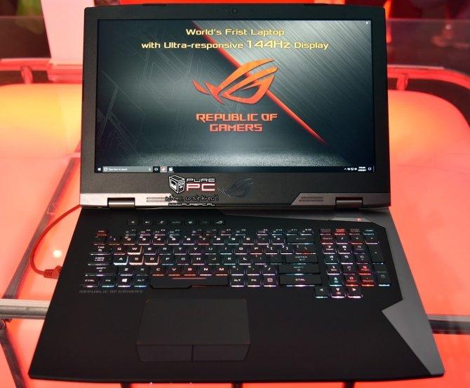 ASUS ROG Chimera - laptop z matrycą o odświeżaniu 144 Hz [2]