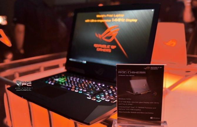 ASUS ROG Chimera - laptop z matrycą o odświeżaniu 144 Hz [9]