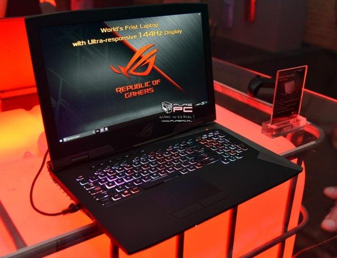 ASUS ROG Chimera - laptop z matrycą o odświeżaniu 144 Hz [10]