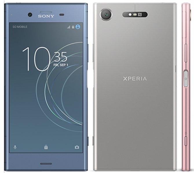 Sony prezentuje smartfony Xperia XZ1, XZ1 Compact i XA1 Plus [1]