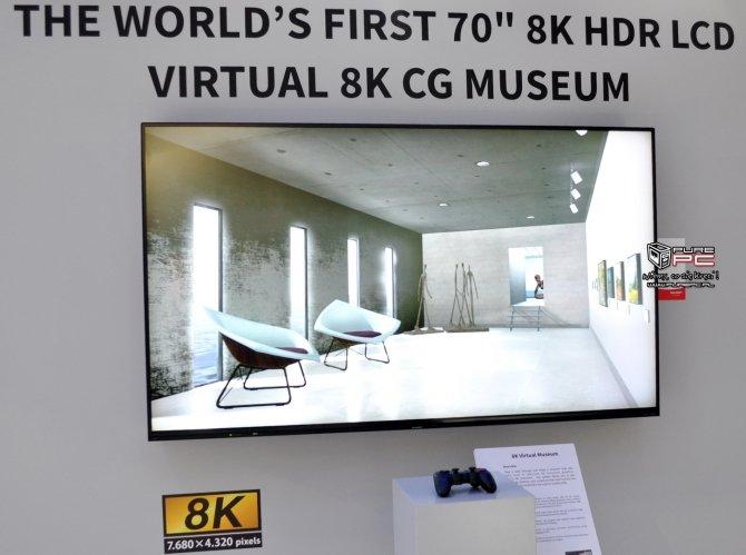 Sharp na IFA: panel 4K 120, pierwszy na świecie ekran 8K [7]