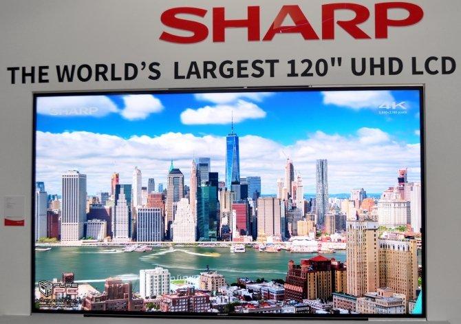 Sharp na IFA: panel 4K 120, pierwszy na świecie ekran 8K [8]