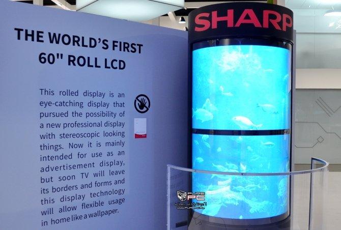 Sharp na IFA: panel 4K 120, pierwszy na świecie ekran 8K [9]