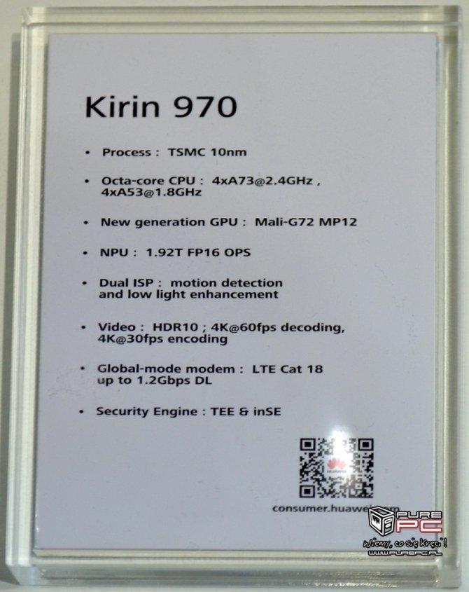 IFA2017: Kirin 970 - Huawei przedstawia nowy układ SoC [3]