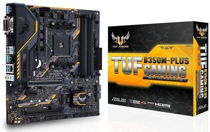 ASUS TUF B350M-Plus Gaming - wytrzymała płyta główna pod AM4 [1]
