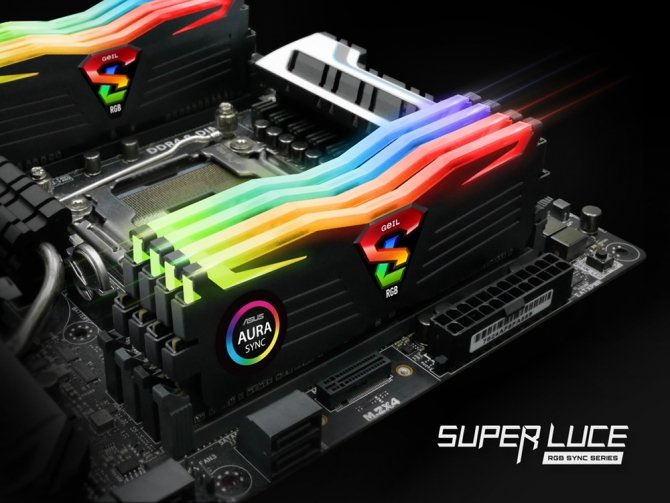 GeIL Super Luce RGB Sync - DDR4 z pełnym podświetleniem RGB [2]