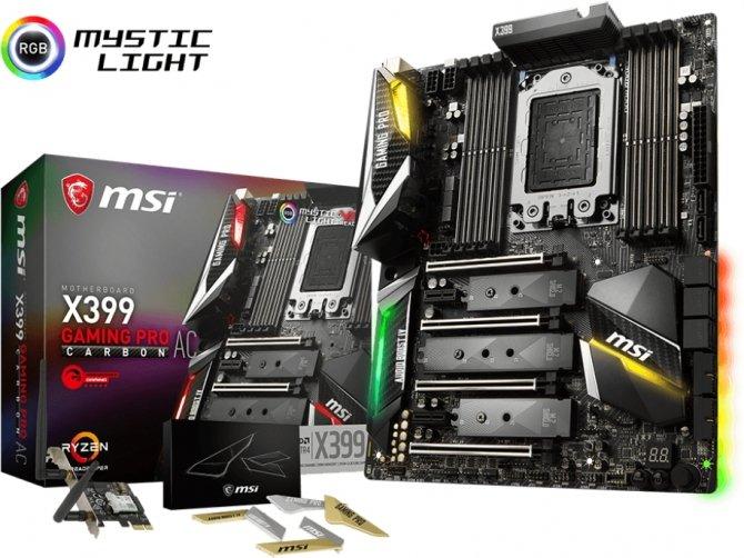 MSI X399 Gaming Pro Carbon AC - płyta trafia do sprzedaży [1]