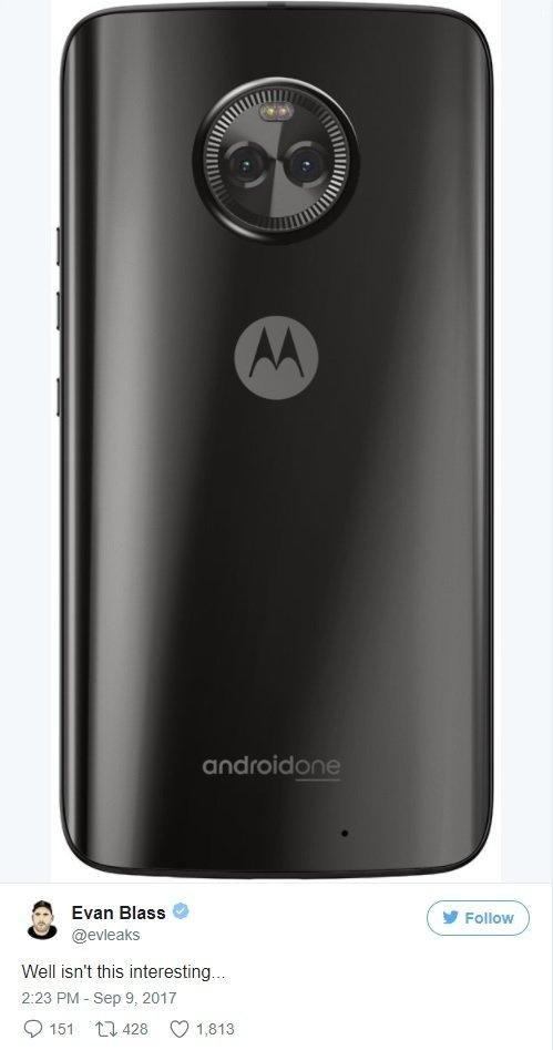 Motorola Moto X4 pojawi się w wersji Android One [1]