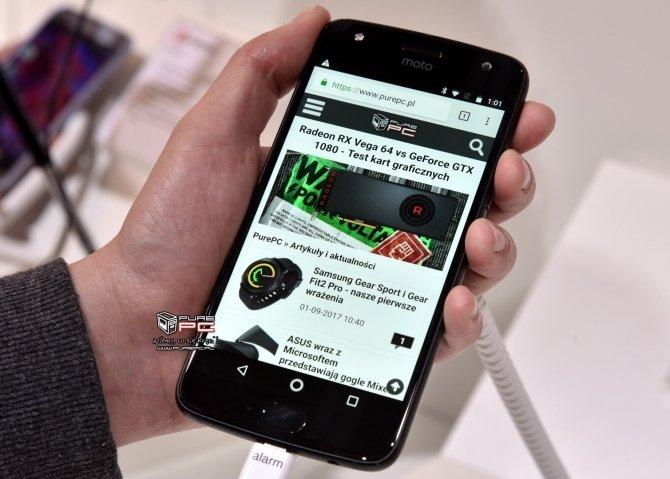 Motorola Moto X4 pojawi się w wersji Android One [2]