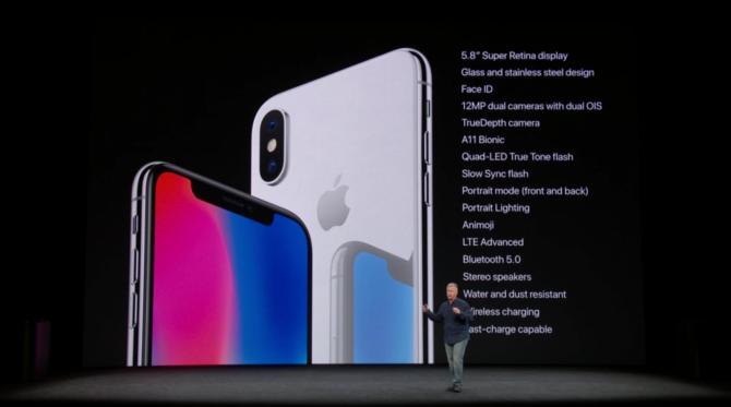 iPhone 8 i iPhone X oficjalnie zaprezentowane przez Apple [28]