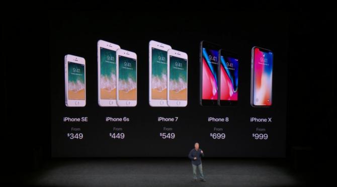 iPhone 8 i iPhone X oficjalnie zaprezentowane przez Apple [30]