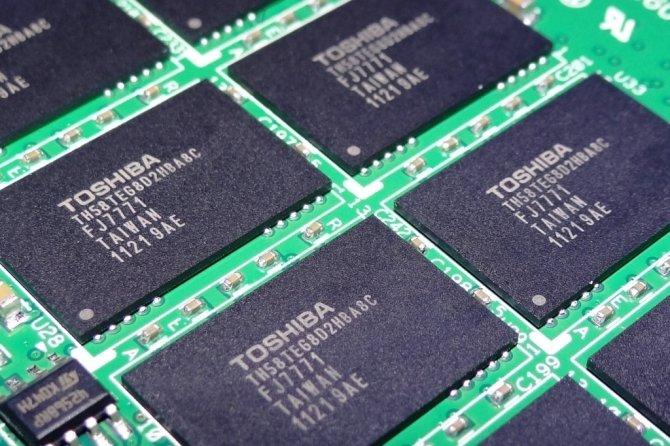 Toshiba planuje sprzedaz działu pamięci NAND za 18,3 mld USD [2]