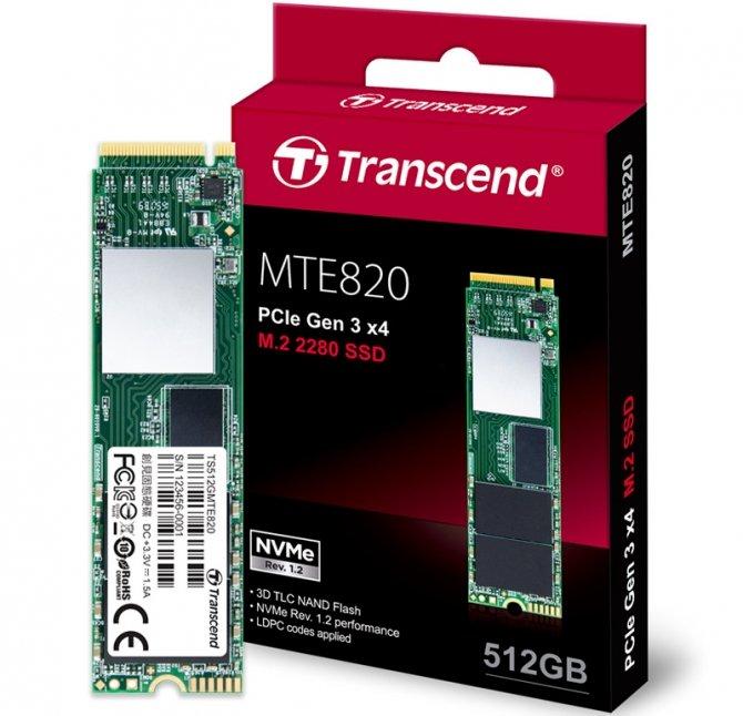 Transcend MTE820 - trzy niedrogie dyski SSD NVMe [1]