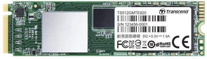 Transcend MTE820 - trzy niedrogie dyski SSD NVMe [2]