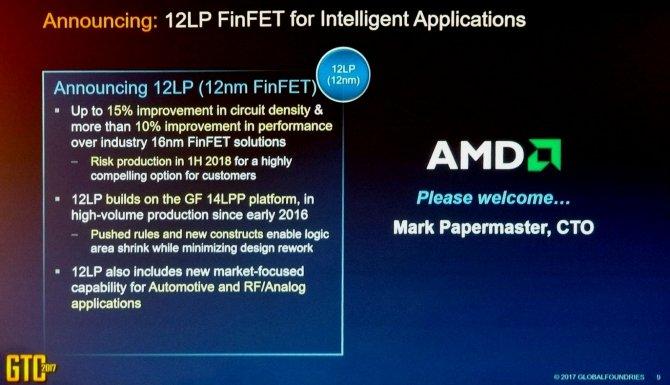 AMD Radeon Vega  & AMD Ryzen w procesie 12nm LP w 2018 roku [2]
