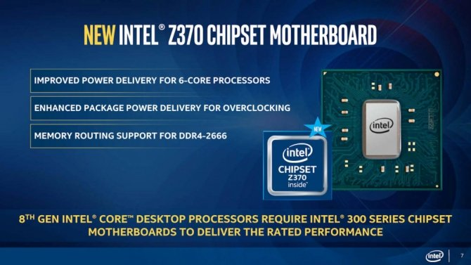 Intel Coffee Lake-S - oficjalne informacje o nowych CPU [6]