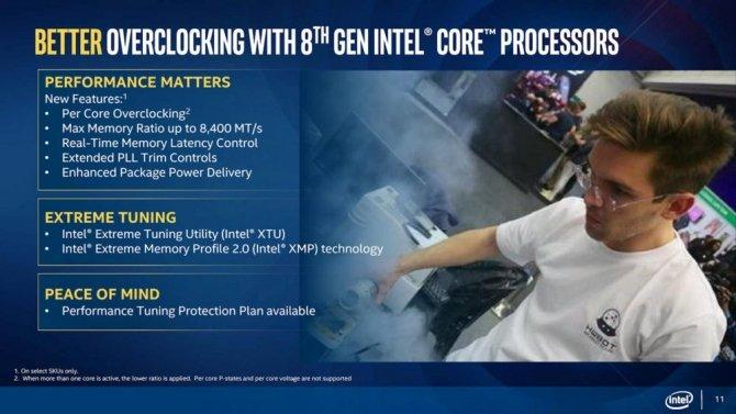 Intel Coffee Lake-S - oficjalne informacje o nowych CPU [10]