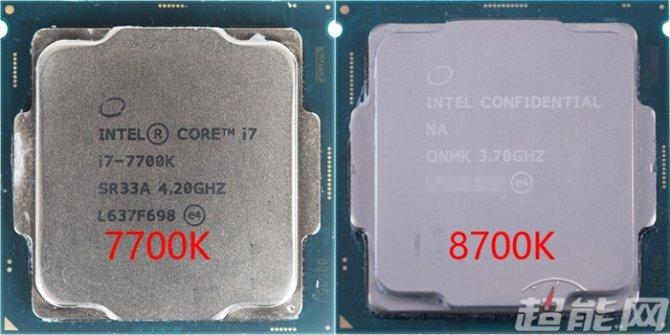 Intel Core i7-8700K - Pierwsze wyniki wydajności procesora [1]