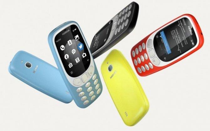Nokia 3310 powraca raz jeszcze, tym razem w wersji 3G [1]