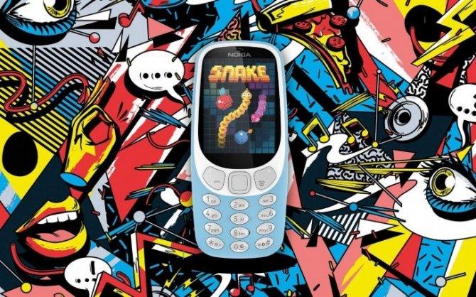 Nokia 3310 powraca raz jeszcze, tym razem w wersji 3G [2]
