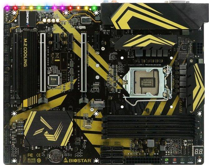 Biostar RACING Z370GT7 i Z370GT6 - nowe płyty z Intel Z370 [1]